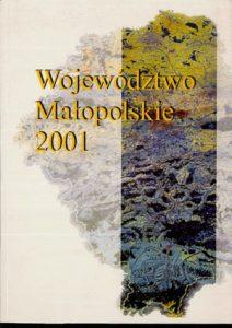 """Okładka raportu: """"Województwo Małopolskie 2001"""""""