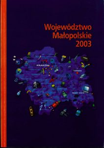 """Okładka raportu: """"Województwo Małopolskie 2003"""""""