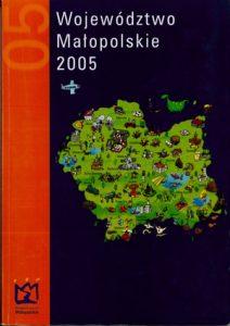 """Okładka rportu: """"Województwo Małopolskie 2005"""""""