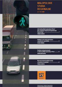 """Okładki raportu: """"Małopolskie Studia Regionalne Nr 1/16/2009"""""""