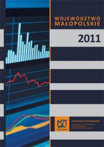 """Okładka raportu: """"Województwo Małopolskie 2011"""""""
