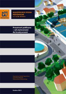 """Okładka raportu: """"Przestrzeń publiczna - od użyteczności do kreatywności"""""""