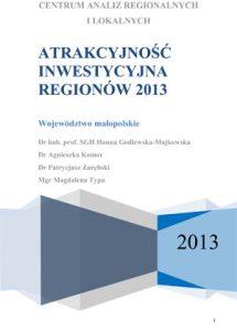 Atrakcyjność inwestycyjna regionów 2013