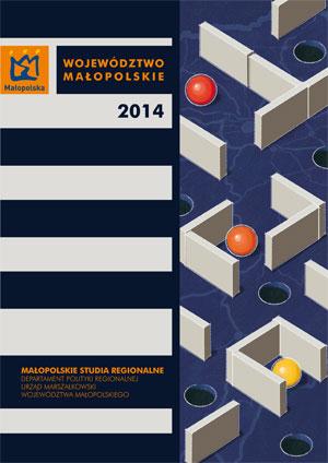 """Okładka raportu: """"Województwo Małopolskie 2014"""""""