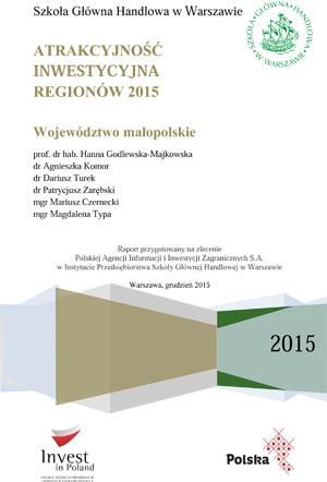 Atrakcyjność inwestycyjna regionów 2015