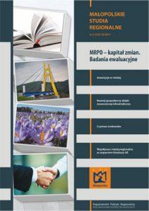 """Okładka raportu: """"MRPO – kapitał zmian. Badania ewaluacyjne"""""""
