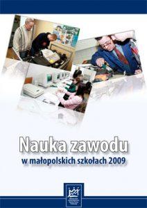 Nauka_zawodu_w_malopolskich_szkolach_2009-okladka