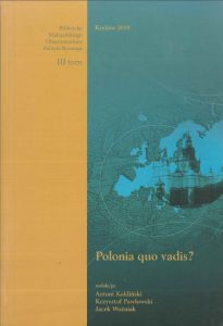okładka publikacji po III Konferencji Krakowskiej