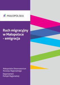 Ruch migracyjny w Małopolsce - emigracja