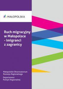 Ruch migracyjny w Małopolsce - imigranci z zagranicy