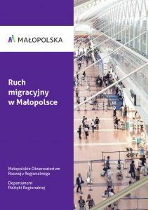 Okladka_Ruch_migracyjny_w Małopolsce