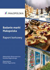 Okładka raportu na temat badania marki Małopolska