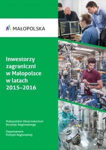okładka raportu na temat inwestycji zagranicznych