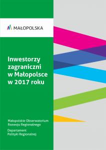 okładka raportu Inwestorzy zagraniczni 2017