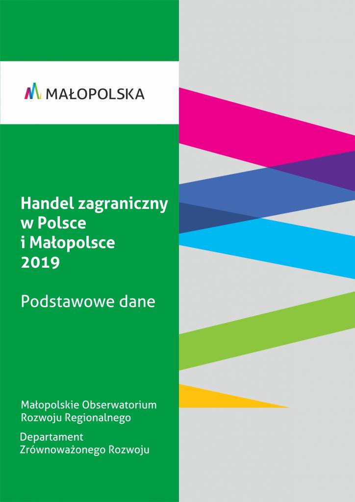 Handel zagraniczny w Polsce i Małopolsce 2019. Podstawowe dane