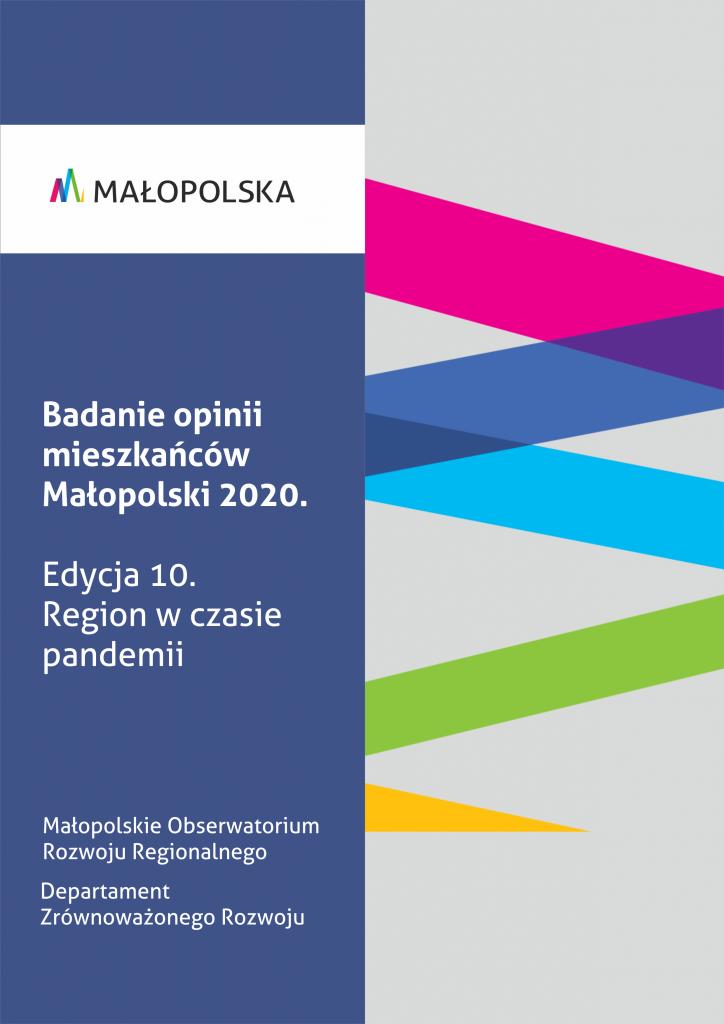 Badanie opinii mieszkańców Małopolski 2020. Region w czasie pandemii