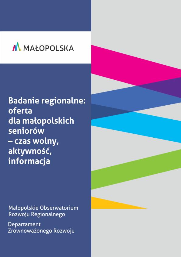 Badanie regionalne: oferta dla małopolskich seniorów – czas wolny, aktywność, informacja